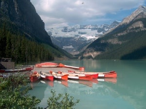 Lake Louise Alberta Canada Activities