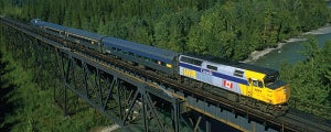 Train journey sightseeing tour