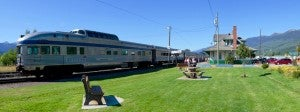 Jasper Train Tour-McBride Station