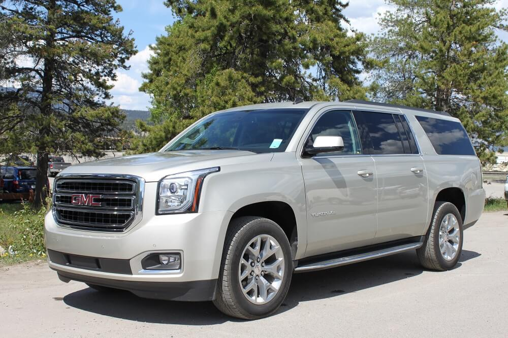 Luxury SUV - Grey - Our Vehicles