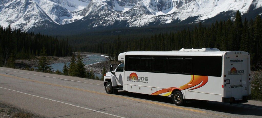 Sundog Tour Bus - Banner